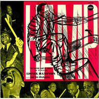 Lionel Hampton And His Orchestra - The Exciting Hamp In Europe In Person (LP)