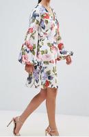 John Zack Floral Dress Petite