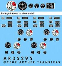 Archer 1/35 SdKfz 7 Instruments & Placards fine transfer (Trumpeter) 35295