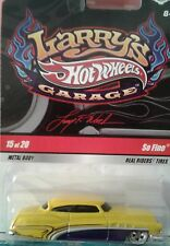 Hot Wheels Larry's Garage #15 So Fine CHASE yellow