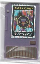Rockman EXE (Megaman Battle Network) Advanced PET Navi Data Chip NapalmMan Rare!