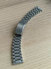 Omega Speedmaster and Seamaster Stainless Steel Bracelet 1125 with 185 Endlinks