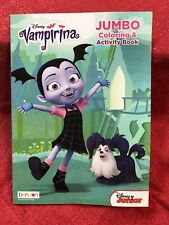 Disney Junior Vampirina Jumbo Coloring & Activity Book 96 Pages Of Kids Games