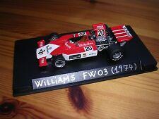 1/43 WILLIAMS FW03 (1973) #20 A.MERZARIO - G.P. FRANCE 1974 BUILT MODELCAR