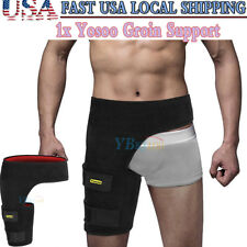 Adjustable Neoprene Support Groin Strain Pain Compression Recovery Wrap