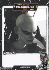 Jaime King Official Pix Star Wars Autograph Trading Card Celebration V Exc