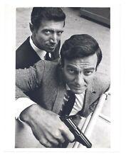 Mike Connors 1967 Mannix CBS Original 7x9 Portrait Joseph Campanella 1st SEASON