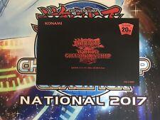 YUGIOH RARE WORLD CHAMPIONSHIP 2018 PRIZE PROMO CARDS BLUE EYES DARK MAGICIAN