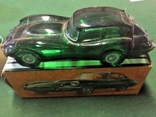 Vintage Avon Jaguar Etype 2+2 Glass AfterShave Wild Country - Full with Box