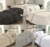 Premium Quality Hamlet Percale Quilt Cover +Pillowcases Bedding Set All Sizes