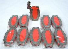 Lot Of 10 Biker Chain Link Motorcycle Refillable Torch Cigarette Lighter RF A-6