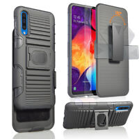 Samsung Galaxy A50 / A50s / A30s Holster Belt Clip Case Hybrid Defender Cover