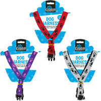 Adjustable Dog Body Harness to Avoid Collar Neck Pressure Strong and Comfort Fit