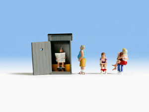 HO Scale People - 15560 - Toilet Stories