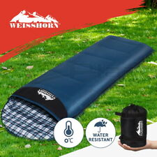 Weisshorn Sleeping Bags Single Sleeping Bag Camping Hiking Winter Thermal