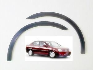 Vauxhall Vectra C wheel arch trims black matt 4pcs front rear moulding kit 02-08