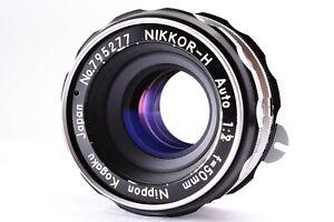 Exc+++++ Nikon Nikkor H Auto 50mm f/2 Non Ai Lens MF Prime From JAPAN SLR Camera