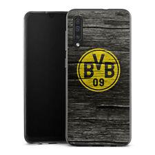 Samsung Galaxy A50 Silikon Hülle Case - BVB Holzoptik