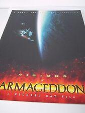 Visions of Armageddon-Making of Armageddon Book-Bruce Wilis-Liv Tyler