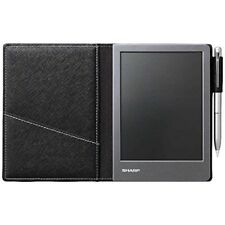 SHARP WG-S50 Electronic Notebook Black Japan Import Free Shipping With Tracking