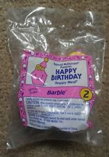 New McDonalds HAPPY MEAL Toy Happy Birthday Barbie 1994 #  2 BARBIE RARE