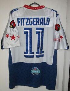 Larry Fitzgerald Pro Bowl NFL Arizona Cardinals Reebok Jersey Size 52 All Star