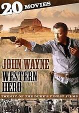 John Wayne: Western Hero - 20 Movies (DVD, 2013, 4-Disc Set) - NEW!!