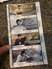 2015 NEW YORK YANKEES VS TAMPA BAY RAYS SUITE TICKET STUB 7/4 LOU GEHRIG