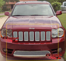 Fits Jeep Grand Cherokee SRT8 Mesh Grille Combo 09-10