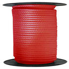 Anchor Rope Dock Line 38 X 50 Braided 100 Nylon Red Made In Usa
