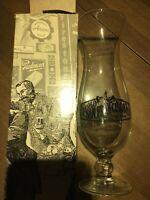 """New Old San Francisco Steak House Hurricane Goblet Glass 9"""""""