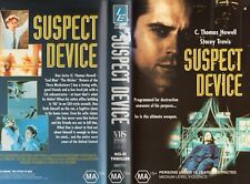 SUSPECT DEVICE - C Thomas Howell  -VHS-PAL-NEW-Never played!-Original Oz release