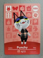 #050 Punchy Series 1 Mint & Never Scanned Animal Crossing Amiibo Card