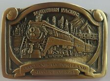 Shasta Daylight 4449 Oakland to Portland bronze belt buckle #019/300