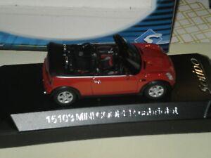 Solido Ref 15103 MINI Cooper cabriolet