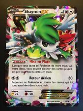 Carte Pokemon SHAYMIN 77/108 Holo Ultra Rare EX XY6 Française NEUF