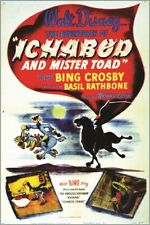 bing crosby in The Adventures Of Ichabod And Mister Toad walt disney 24X36