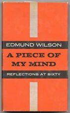 Edmund WILSON / A Piece Of My Mind First Edition 1956