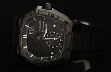 Renato Men's Mostro MKII King II Swiss Made Hexagonal Black IP & Rubber Watch