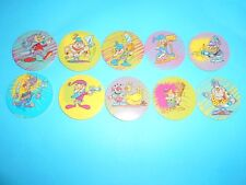 224 pogs pog caps milkcaps flippo : lot de 10 collector caps