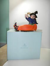 PartyLite Pumpkin Witch Candle Holder #P8212 NIB halloween witch