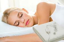 Manta electrica calienta camas 150x80cm 60w selector temperatura sueño y relax