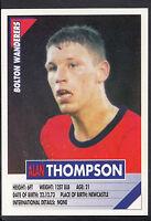 Panini Football Sticker - Super Players 1996 - No 57 - Bolton - Alan Thompson