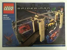Lego Spiderman The Final Showdown 4852 Instruction Manual Only Rare