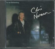 CHRIS NORMAN - Some hearts are diamonds CD Album 10TR BOHLEN 1986 ORIGINAL HANSA
