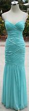 NWT HAILEY LOGAN $190 Seafoam Ball Evening Prom Gown 9