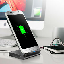 Top Qi Ladestation Kabelloses Ladegerät Wireless Charger Samsung S6/S7/S8 Edge ~