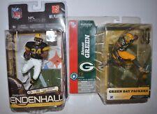 McFarlane NFL Serie 8 Ahman Green Green Bay Packers+Rashard Mendenhall Steelers