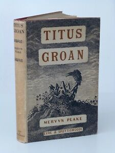 1st Print Titus Groan Mervyn Peake Eyre & Spottiswoode 1946 UK HB Gormenghast