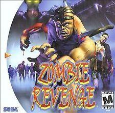 Zombie Revenge (Sega Dreamcast, 2000) CIB COMPLETE